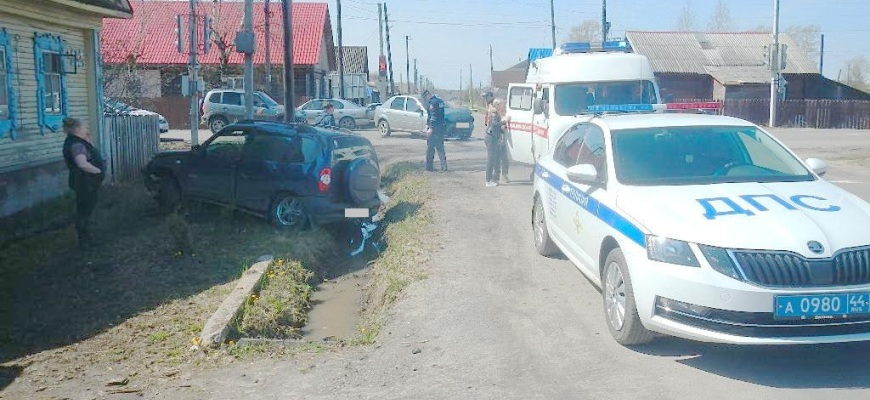 В Шарье в результате ДТП пострадал 34-летний мужчина