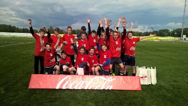 В Костромской области прошли финальные игры второго этапа турнира «Кожаный мяч – Кубок Coca-Cola»