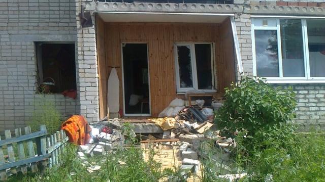 В Костромском районе в многоквартирном доме взорвался газ