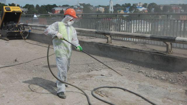 Свежая информация о ходе работ по капитальному ремонту моста через Волгу в Костроме