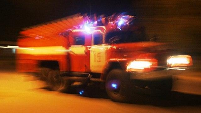 В Костроме в жилом доме случился пожар