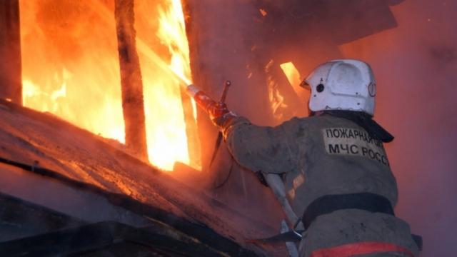Пожар в городе Мантурово ликвидирован
