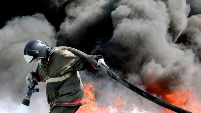 На пожаре в Шарье пострадал один человек