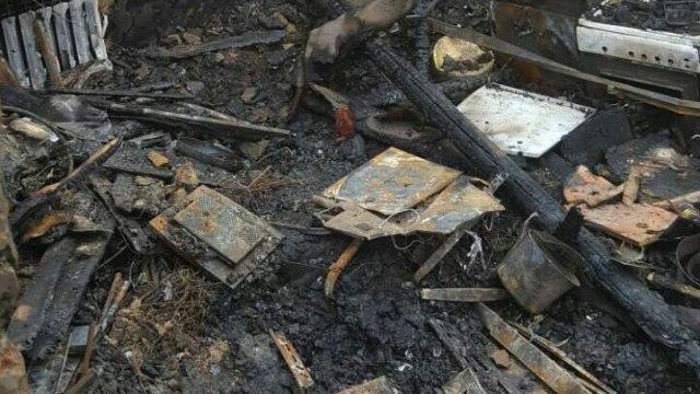 Два частных дома сгорели в Красносельском районе
