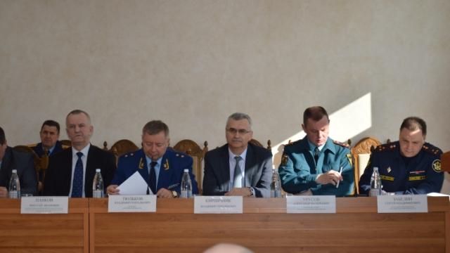 Состоялось заседание Координационного совещания руководителей правоохранительных органов Костромской области