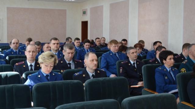 В прокуратуре Костромской области состоялось межведомственное совещание руководителей правоохранительных органов региона