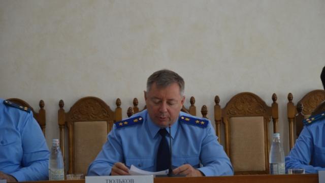Состоялось заседание коллегии прокуратуры Костромской области