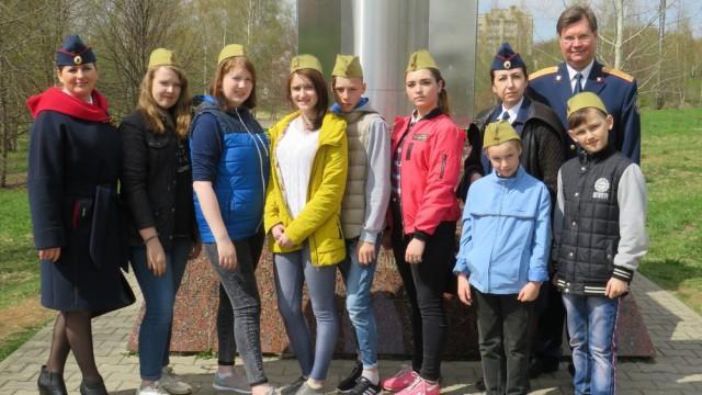 Сотрудники СК России по Костромской области вместе с подшефными воспитанниками посетили праздничные мероприятия, посвященные 73-й годовщине Победы в ВОВ