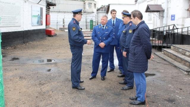 Прокурор Костромской области Владимир Геннадьевич Тюльков посетил галичский следственный изолятор № 2