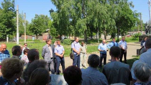 Следователи следственного управления СК России по Костромской области встретились с представителями трудовых коллективов ряда организаций строительной отрасли