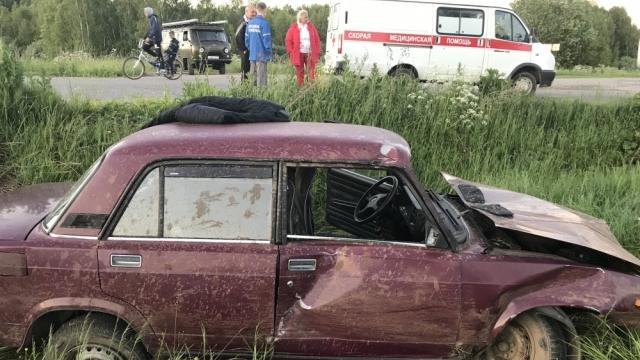 В Красносельском районе произошло ДТП