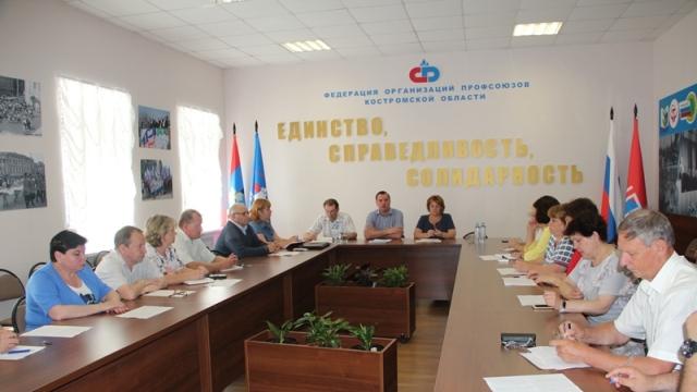 Члены Общественной палаты Костромской области поддержали позицию профсоюзов против увеличения пенсионного возраста