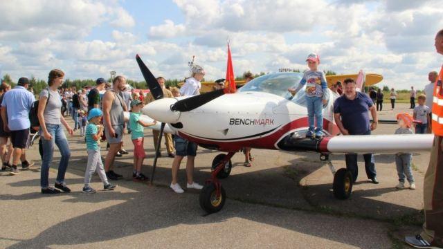В Костроме прошли праздничные мероприятия, посвященные 85-й годовщине Дня Воздушного Флота Российской Федерации