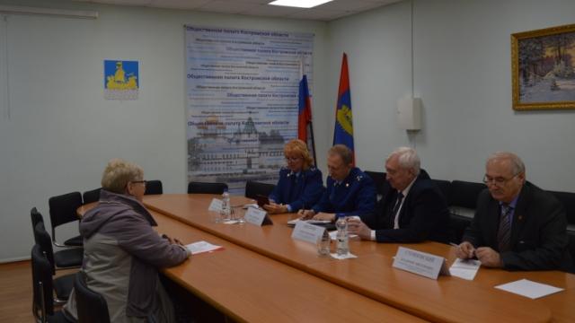 Состоялся совместный прием граждан представителями прокуратуры и председателем Общественной палаты региона