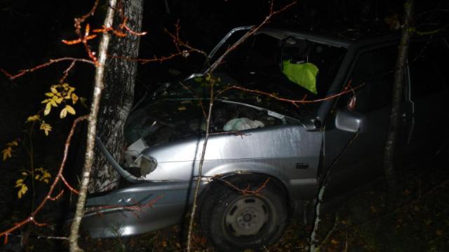 В Костромском районе 19-летний водитель погиб в ДТП