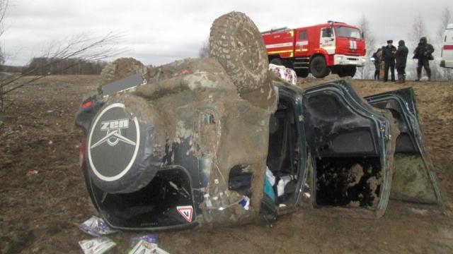 ДТП произошло в Мантуровском районе, есть пострадавшие