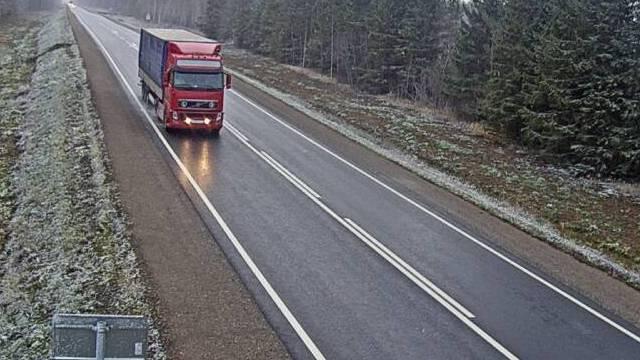 Костромскую область заметает снегом