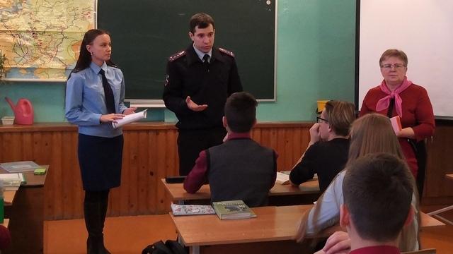 В Островском старшеклассникам рассказали о коррупции и профориентации