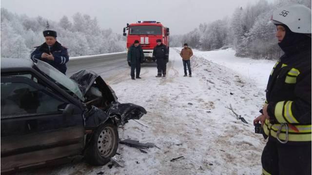 Жуткая авария произошла в Мантуровском районе, есть пострадавший