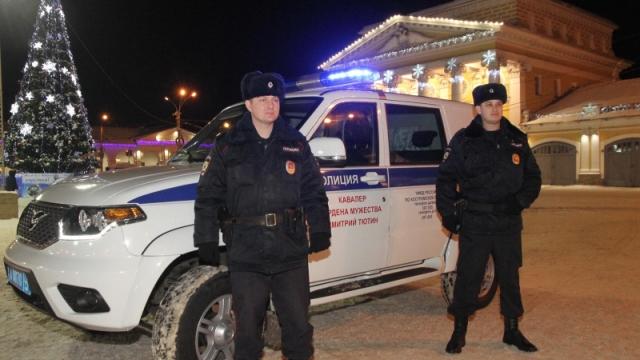 Костромская область встретила новый год без происшествий