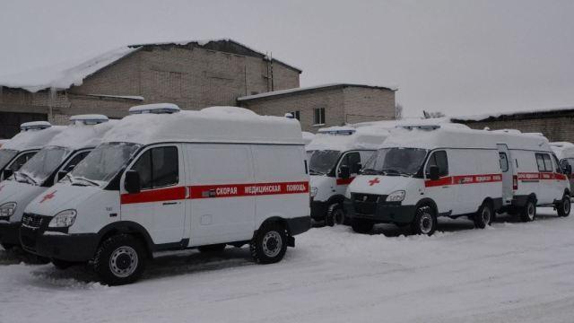 В Костромскую область поступили 36 автомобилей скорой медицинской помощи