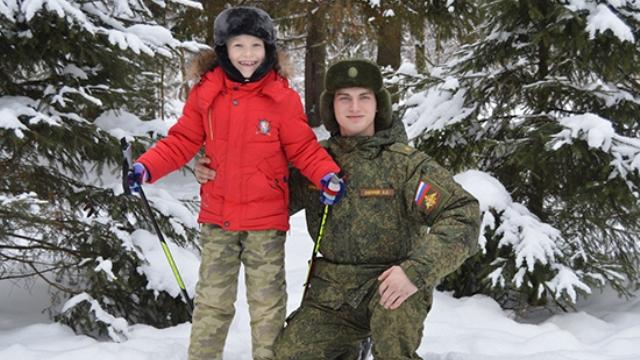 В Костроме курсант военной академии РХБЗ спас ребенка