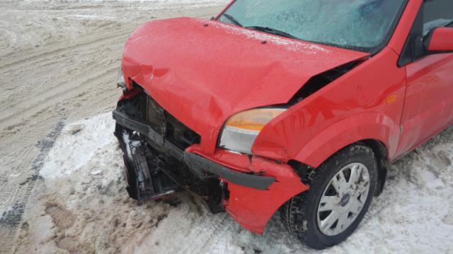 В Костроме автоледи пострадала в ДТП