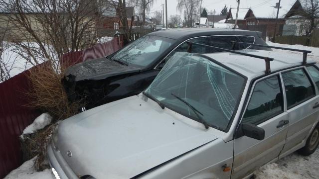 Под Костромой автоледи попала в ДТП: пострадал 44-летний пассажир