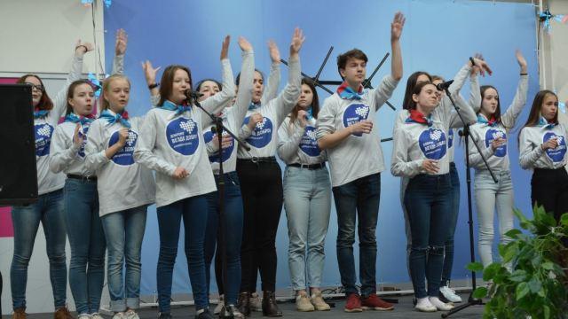 Костромская область отметила переход на цифровое эфирное вещание фейерверком из бабочек